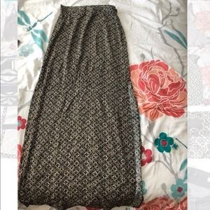 Forever 21 long maxi skirt size XS